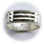 Atlantis Ring Silver